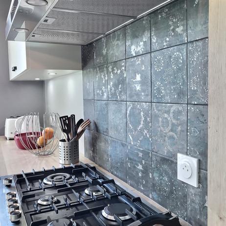zoom d'une cuisine