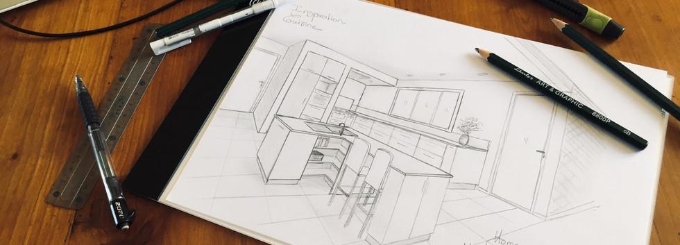 Dessin d'architecture