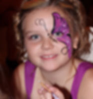 Facepainting was a clear favourite at the Sixty-Five Roses Princess Ball Winnipeg in support of Cystic Fibrosis Canada