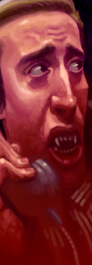 Vampire Kiss (1998), Um Estranho Vampiro
