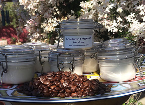 Coffee Peppermint Foot Creme