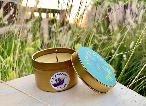 Honey Beeswax Candles