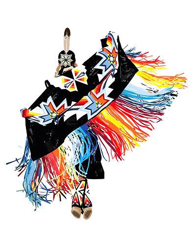 Black Shawl Dancer
