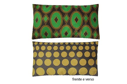 capa de almofada africana lombar Congo