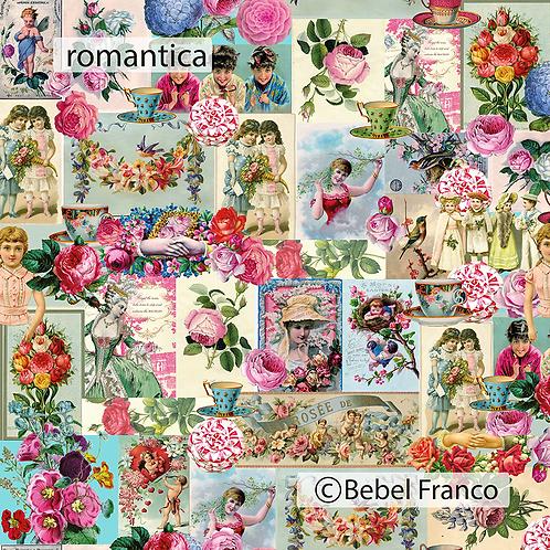 tecido para decoração romantico