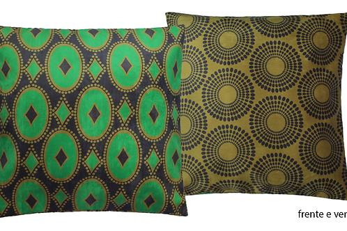 capa de almofada africana Congo