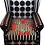Thumbnail: Tecido para decoração e papel de parede estampa floral lenço listras