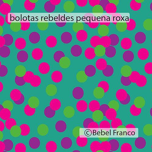 papel de parede bolotas rebeldes pequenas roxas