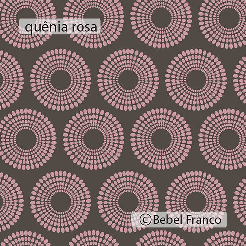 Papel de parede Quênia rosa