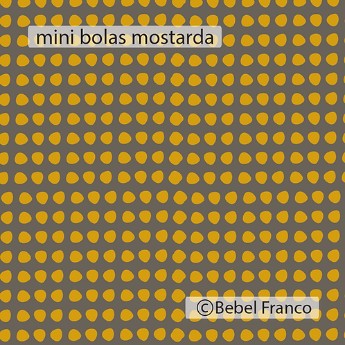 mini bolas mostarda