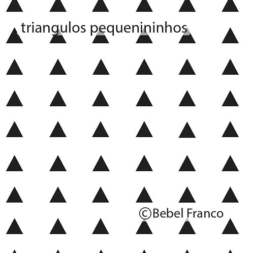 Papel de parede triangulos pequenininhos