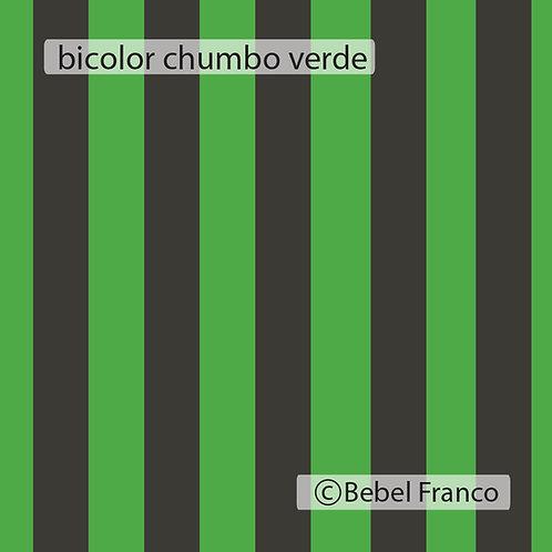 papel de parede listra bicolor cimento e verde fluor
