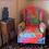 Thumbnail: Tecido com estampa para decoracao - colorida patchwork color
