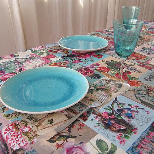 Toalha de mesa romântica