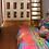 Thumbnail: Tecido para decoracao e papel de parede estampa colorida patchwork alegre