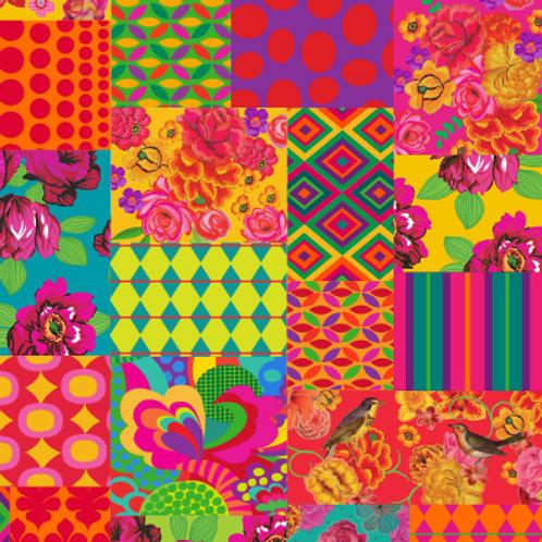 tecido para decoração patchwork ultra   pop