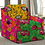Thumbnail: Tecido para decoração e papel de parede estampa amarela jardim