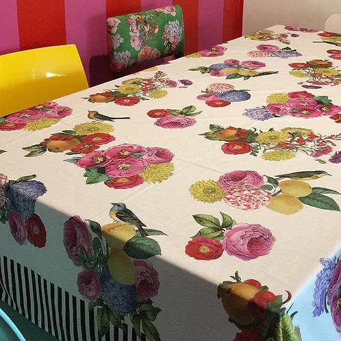 Toalha de mesa jardim