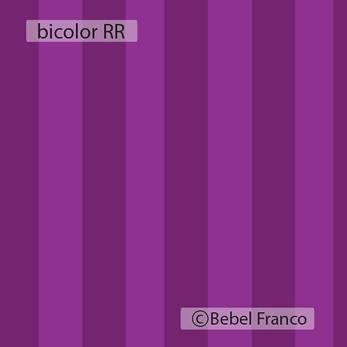 papel de parede estampa listrada bicolor roxa