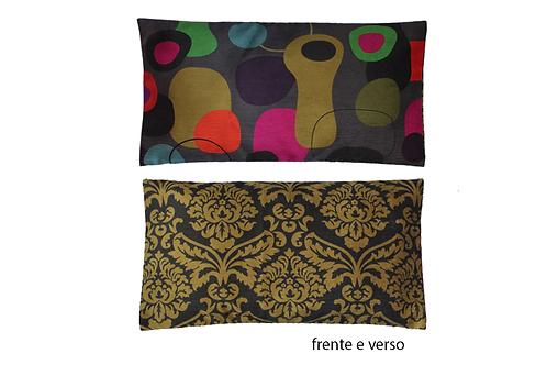 capa de almofada africana lombar Miró Afro