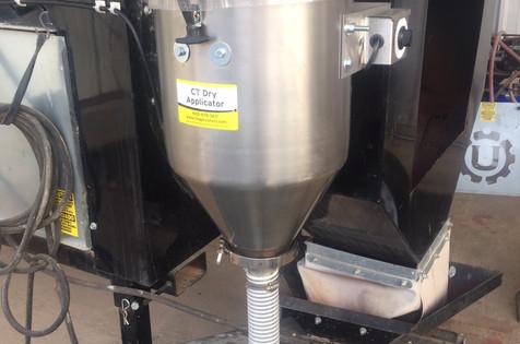 6 gallon 12v on a USC drum/conveyor setup