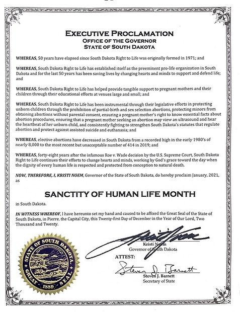 Sanctity of Human Life Month - FINAL.jpe