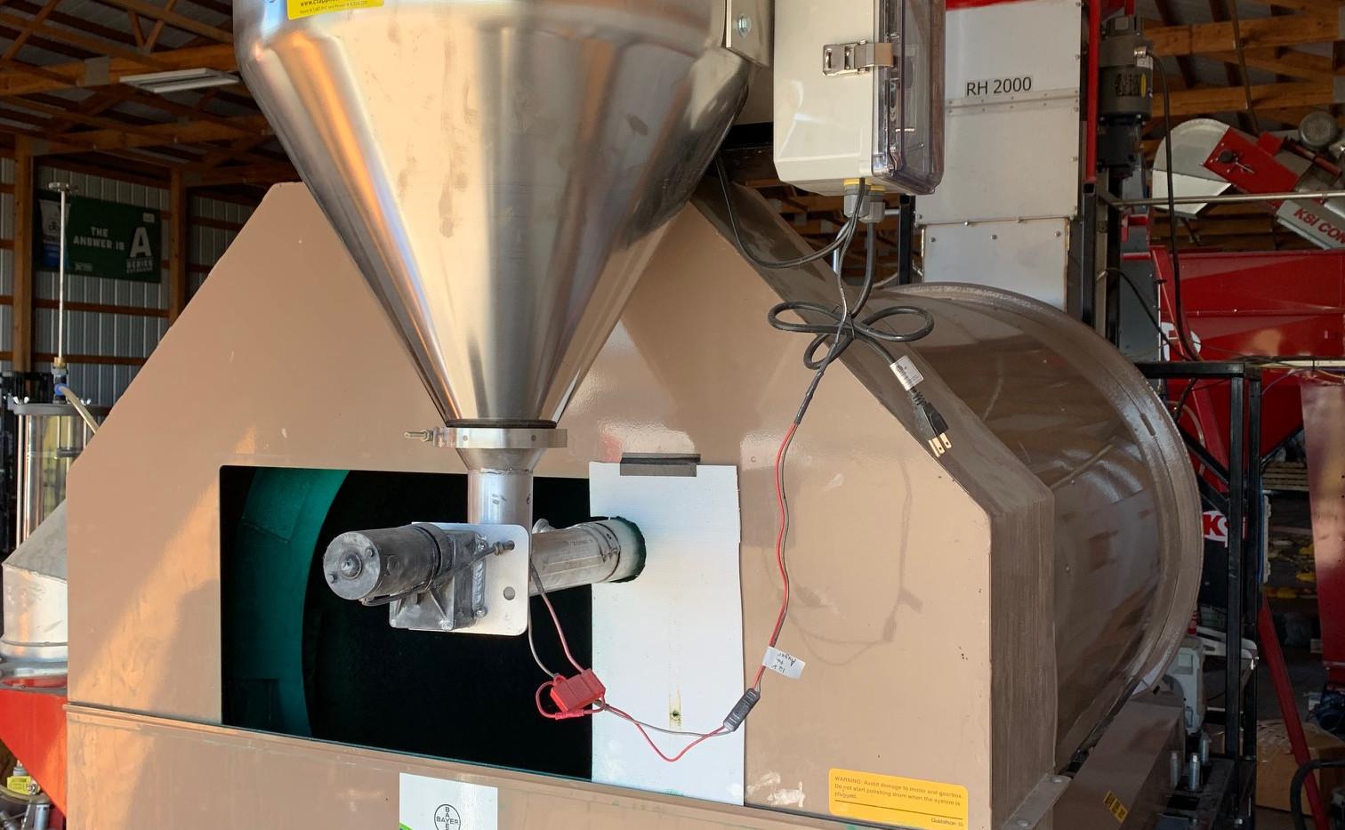 14 gallon offset mount on Bayer