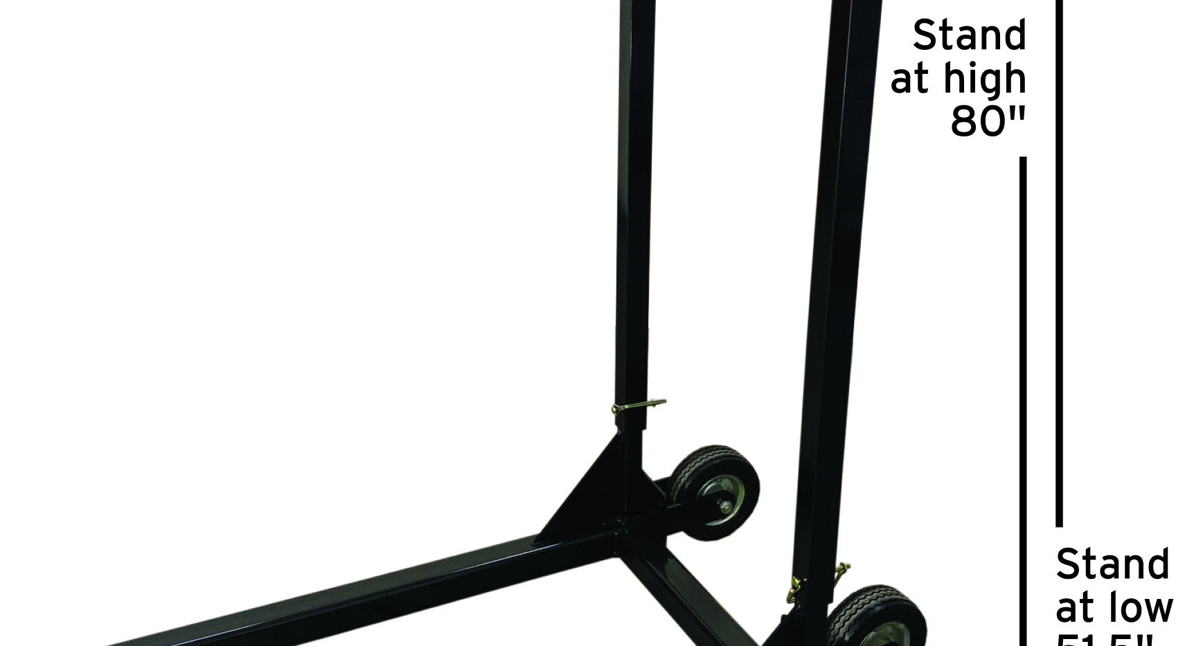 Portable and adjustable stand works with all CT Applicators.