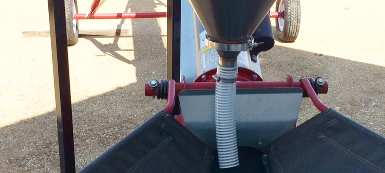 CT Standard Dry Applicator on Portable & Adjustable Stand with KSI conveyor.