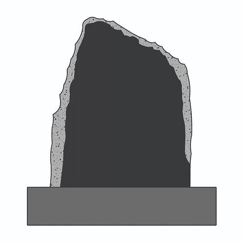 DG 1622 Vertical Shellrock: India Black