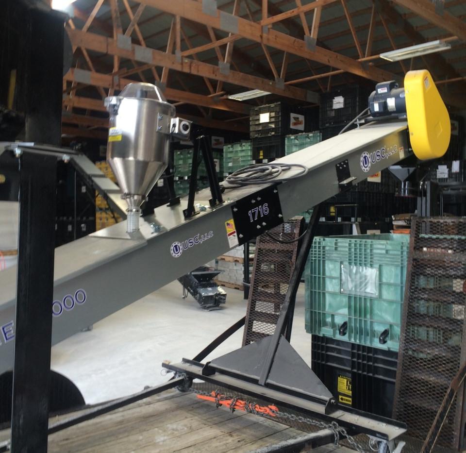 CT Standard Dry Applicator on USC Conveyor.
