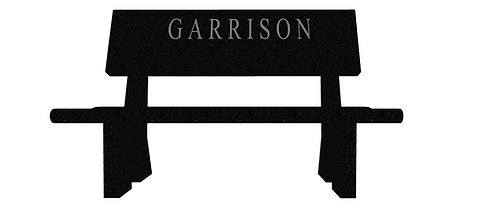 DG 0502 Garrison Bench: India Black