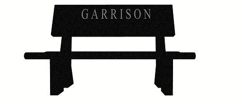 DG 0502 Garrison Bench: China Gray