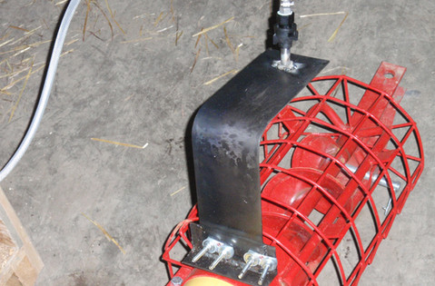 CT Liquid Applicator mounted on a Westfield 6 x 31 Auger.