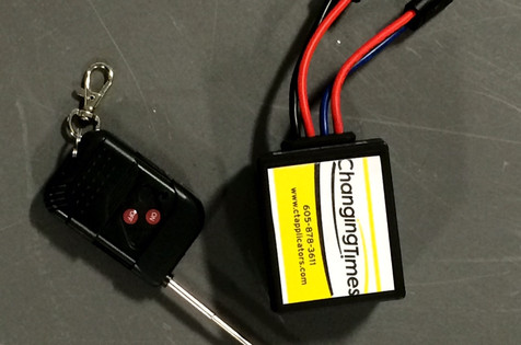 Wireless on/off remote option for CT Standard 12v Dry Applicator.