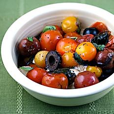 Imported Olives & Tomato Salad
