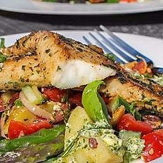 Seasonal Fish Plate