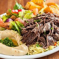 Steak Shawarma Plate
