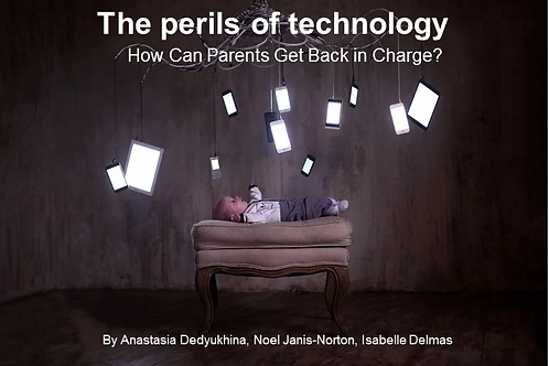 The Perils of Tech: How Can Parents Get Back in Charge?