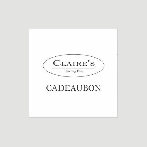 Claire's Cadeaubon