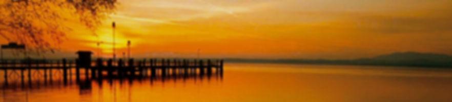 Sonnenuntergang am Hauptsteg