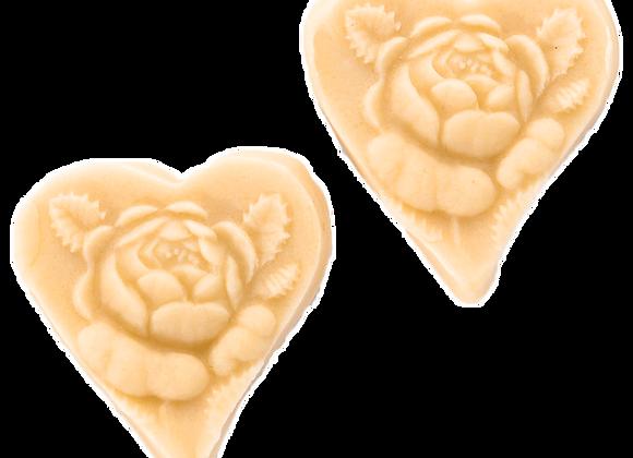 Chiemseer Marzipanherz Bio-Zitrone