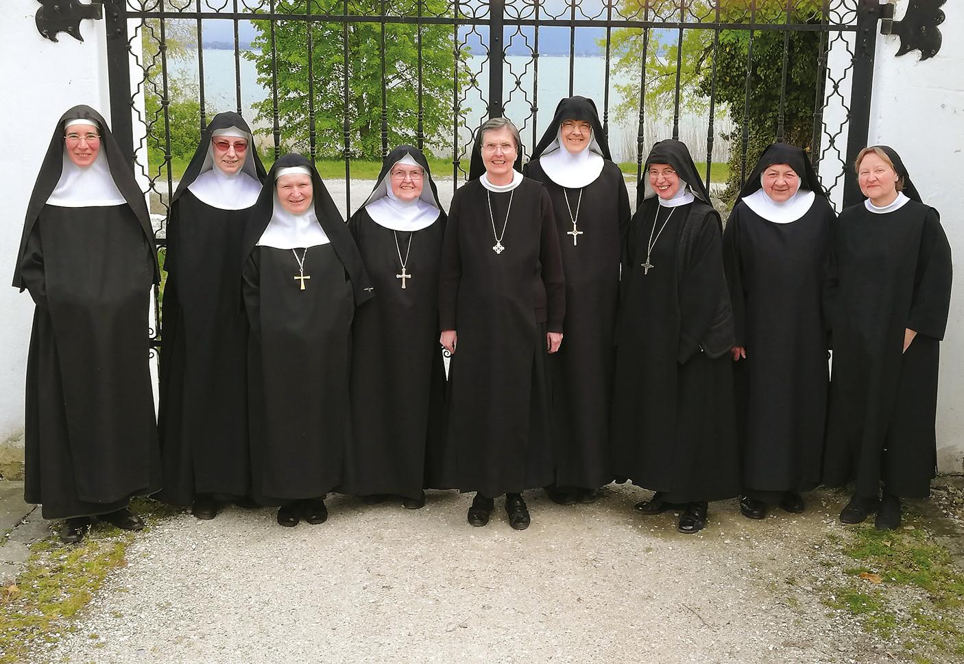 Föderationskapitel tagte in unserer Abtei