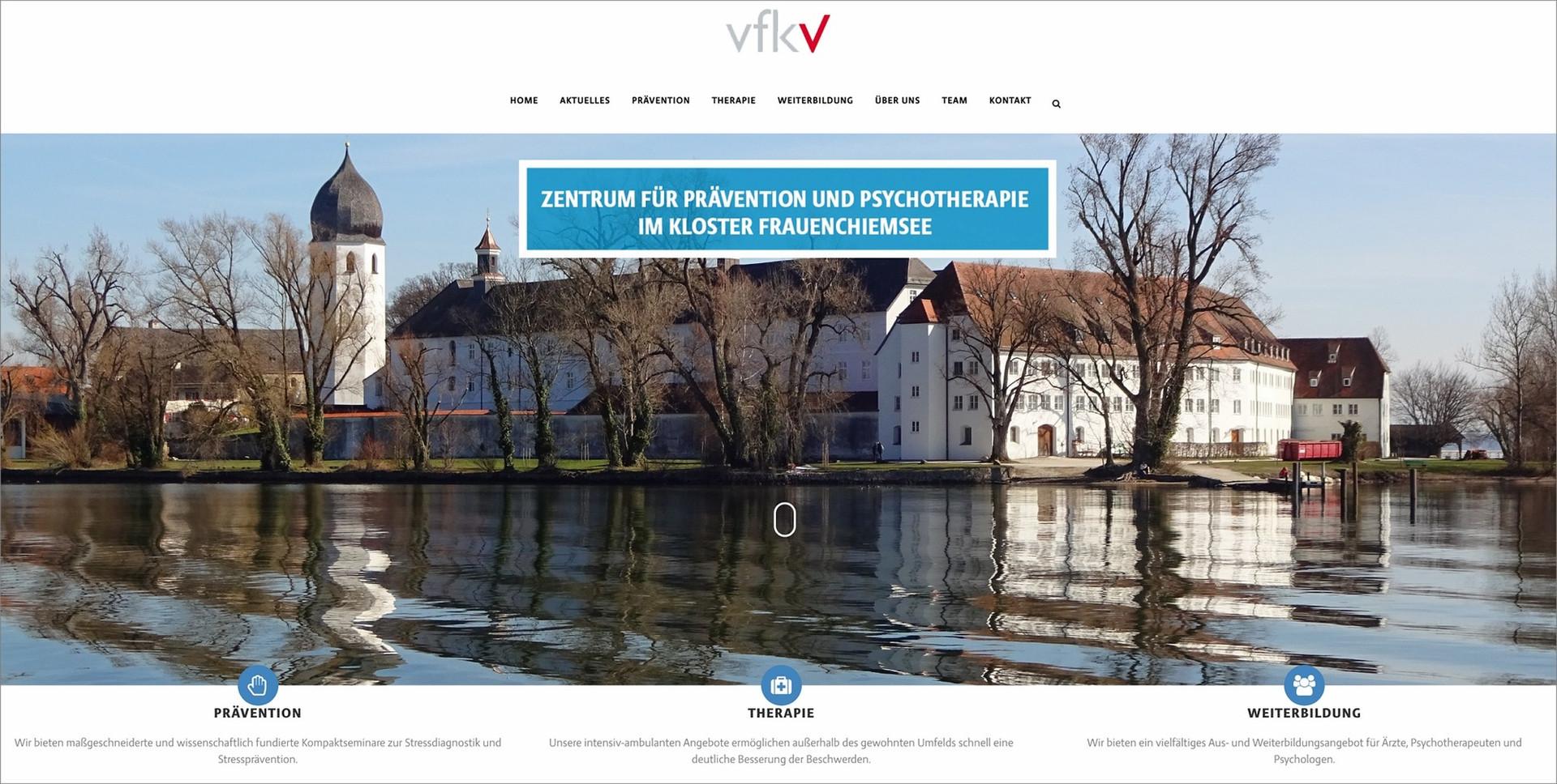 Zentrum für Prävention und Psychotherapie in der Abtei Frauenwörth