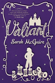 Valiant by Sarah McGuire cover