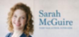 Sarah McGuire author