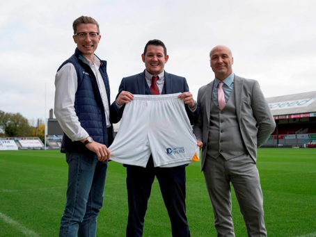 We are Newport County AFC's back of shorts sponsor for 2020/21 season