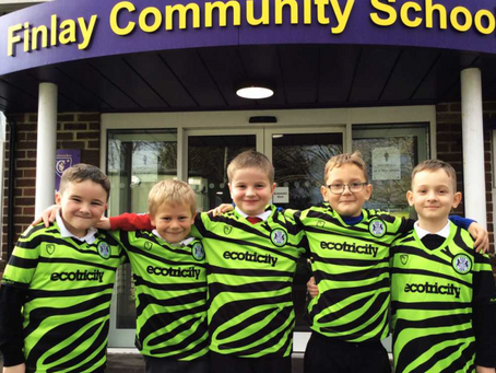 FGR Community give over 450 Shirts to Year 3 Pupils