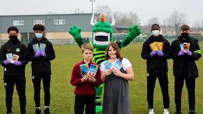 FGR Community distribute 380 books to Primary Schools