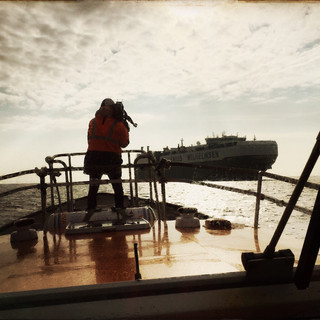Ever boarded a tanker off shore?